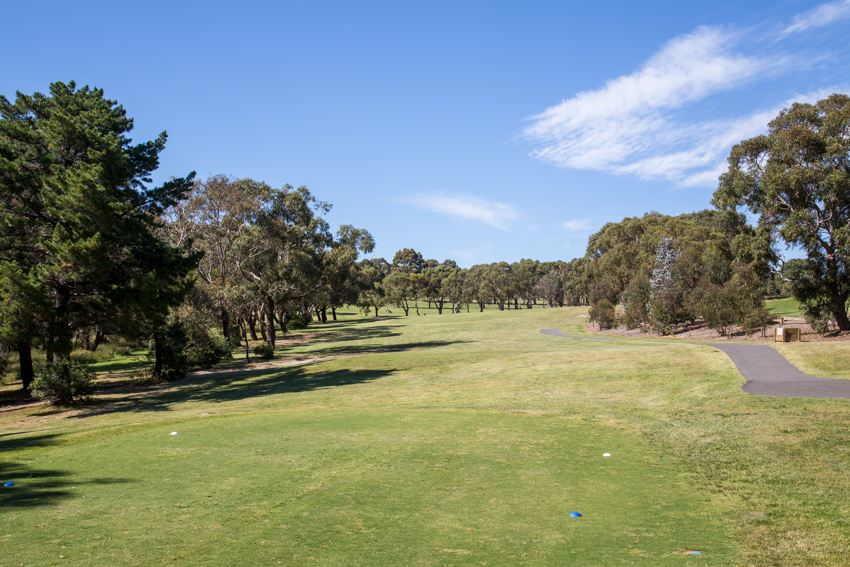 Mt Martha Public Golf Course - Hole 18
