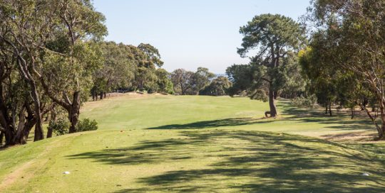 Mt Martha Public Golf Course - Hole 17
