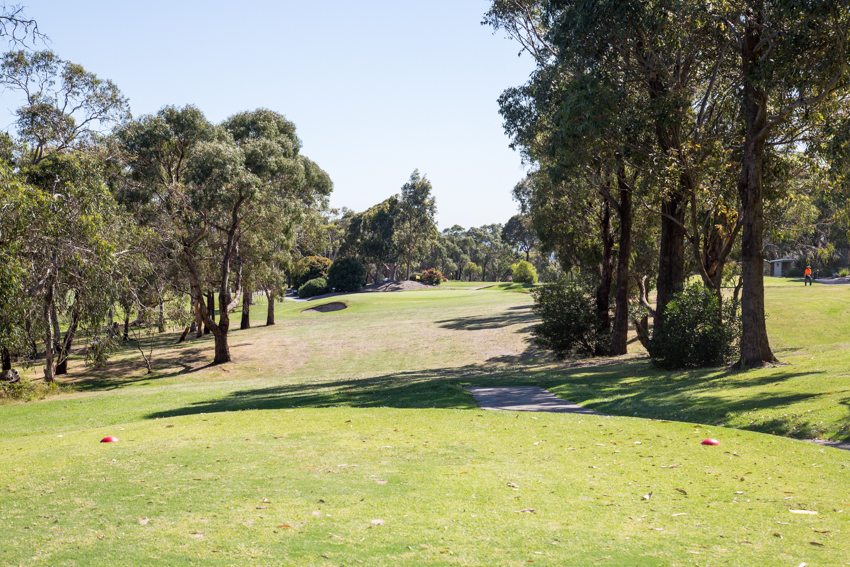 Mt Martha Public Golf Course - Hole 16