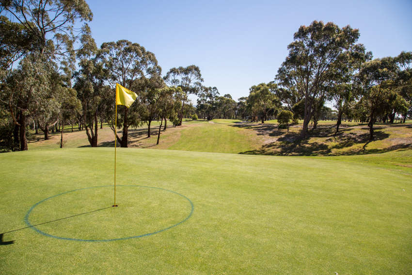 Mt Martha Public Golf Course - Hole 13