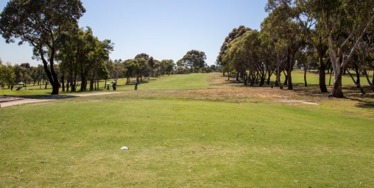 Mt Martha Golf Course - Hole 11