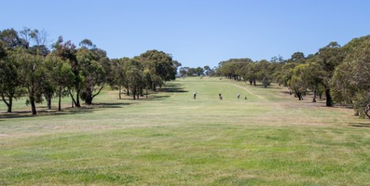Mt Martha Golf Course - Hole 4