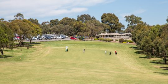 Mt Martha golf Course - Hole 9